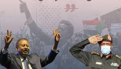 الخلاف المدني العسكري في السودان